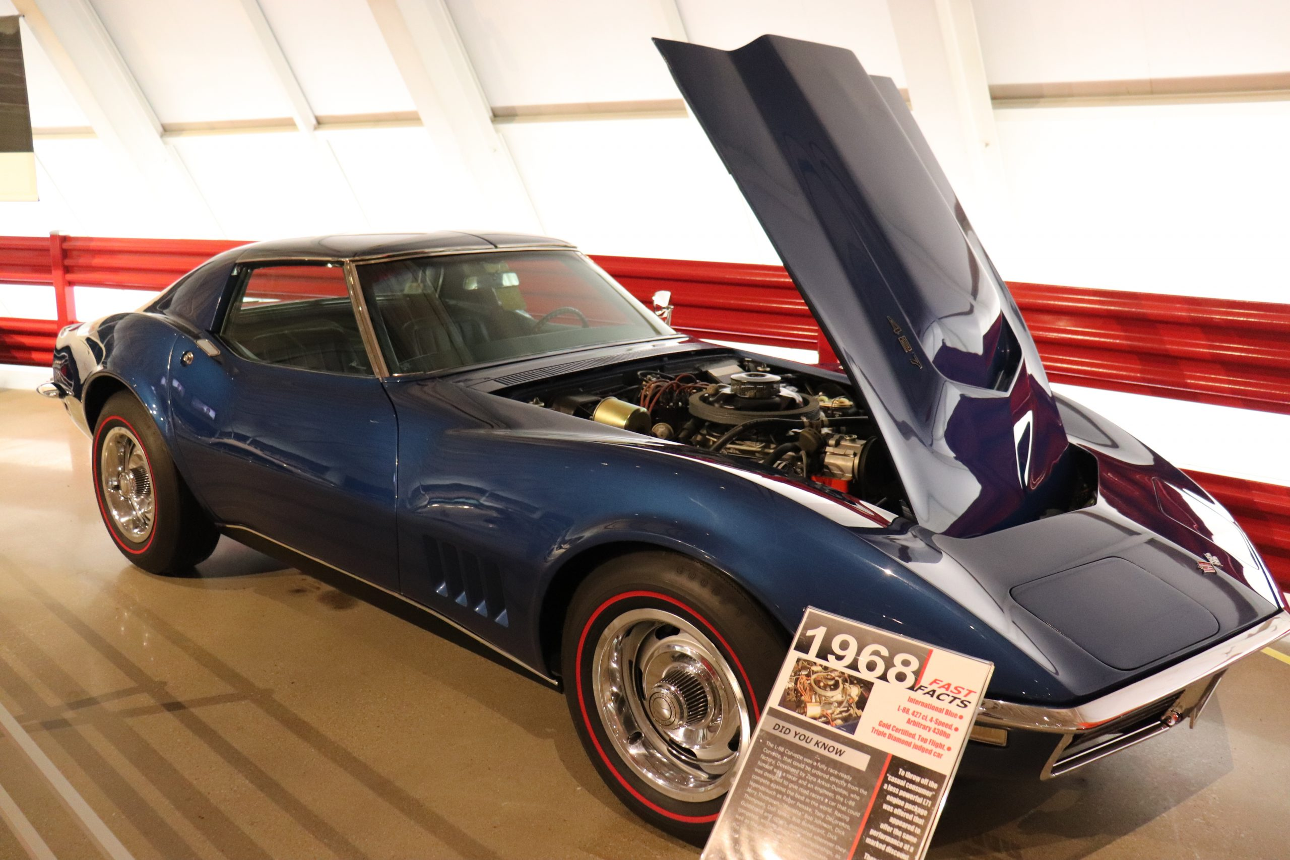 1968 Corvette with Removable Back Window