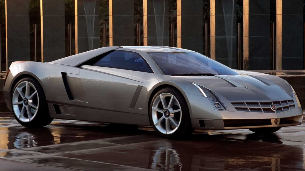 The 2002 Cadillac Cien featured a massive 7.5-liter, V12 engine rated at 750 horsepower.