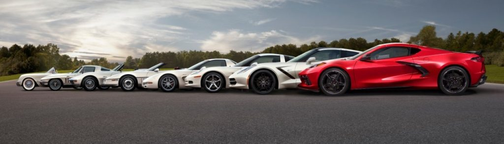 The eighth-generation mid-engine Corvette joins the stable along with all of its incredible predecessors.