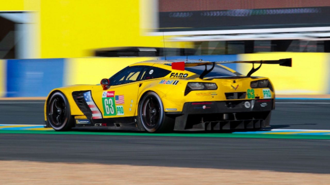 2019 Corvette C7.R #63 at Le Mans
