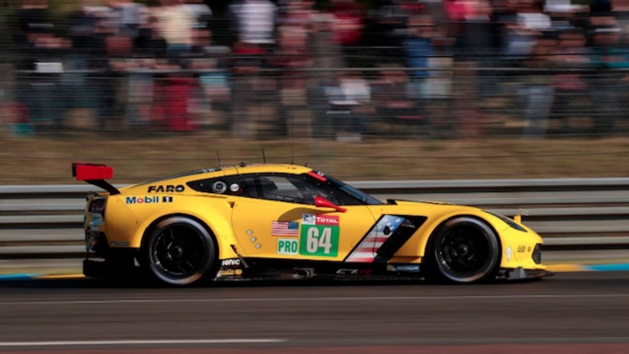 2019 Corvette C7.R #64 at Le Mans