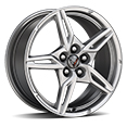 Q8P - Bright Silver Painted Wheels.