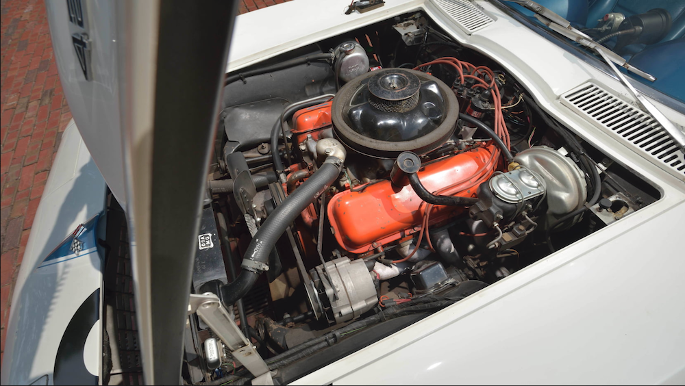 1967 Corvette L88 Convertible engine