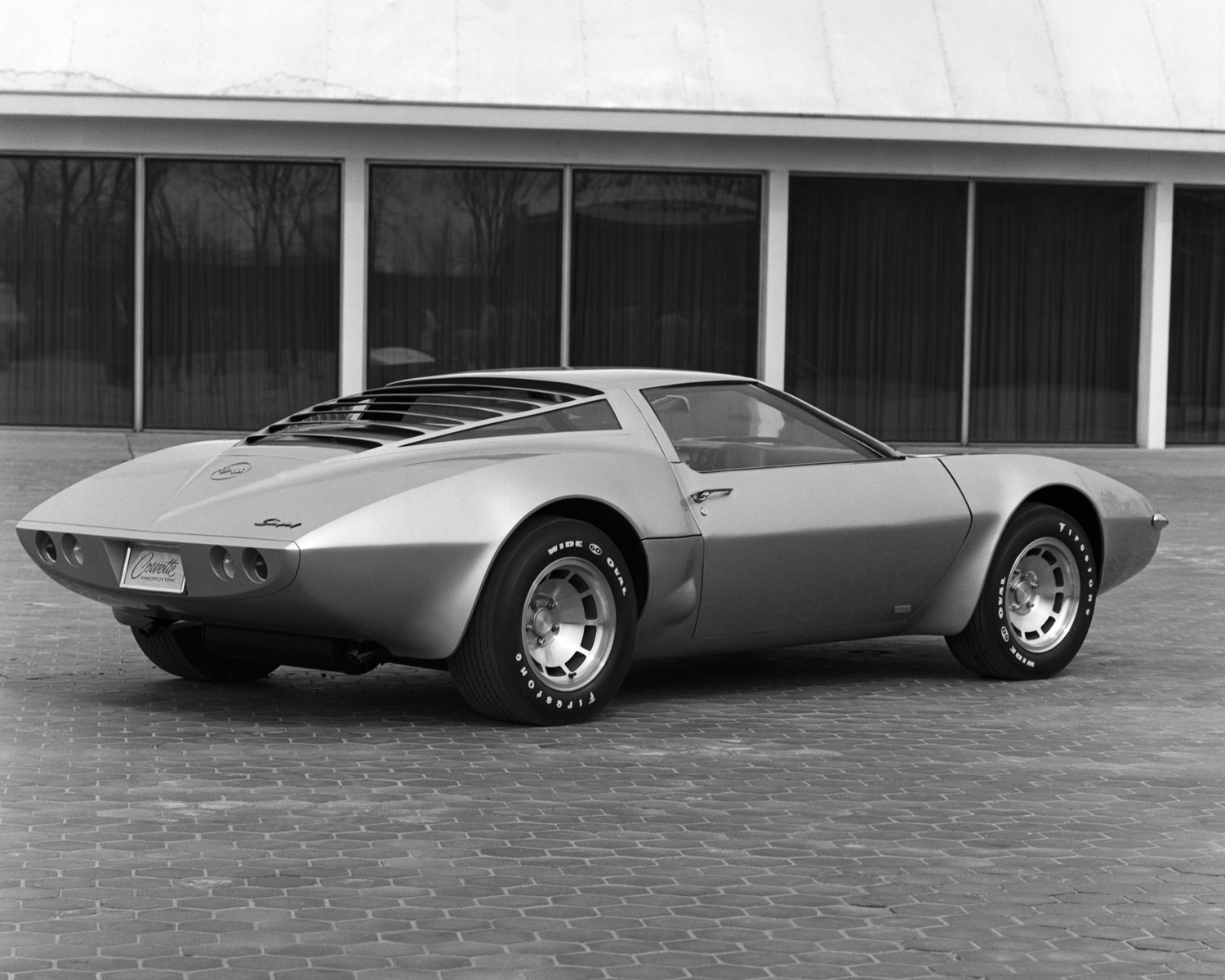 The 1970 XP-882. Here's an interesting footnote about this car - during its development, one variant of the car featured gullwing doors. It has often been speculated that John DeLorean introduced that idea on the XP-882 and carried it with him when he started his own automobile company just a few years later.