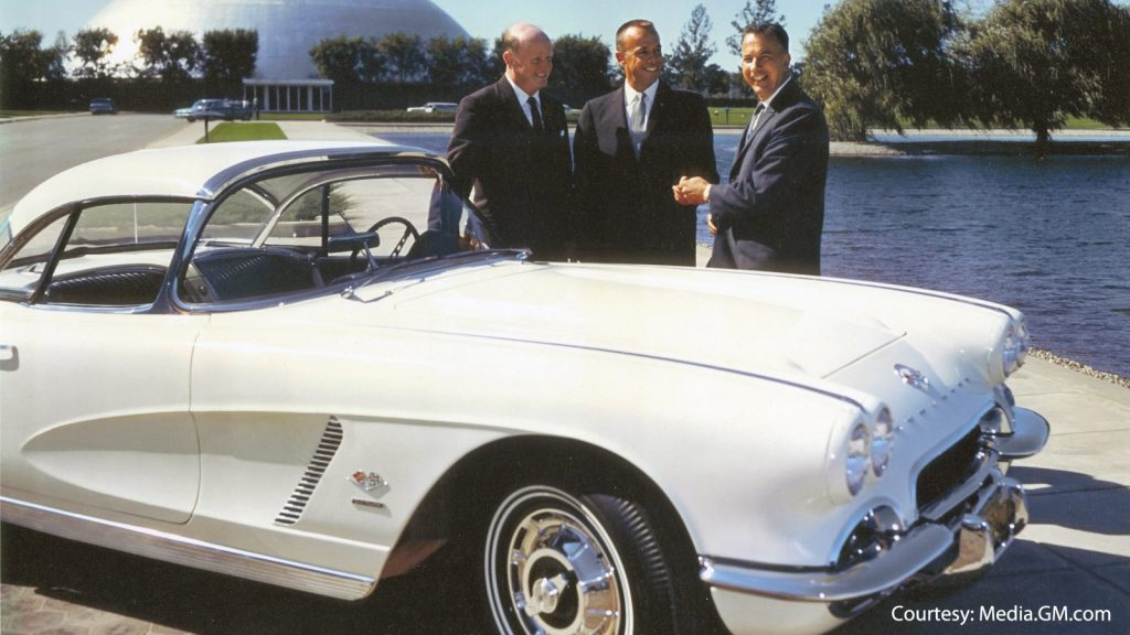 1962 Corvette gifted to Alan Shepard