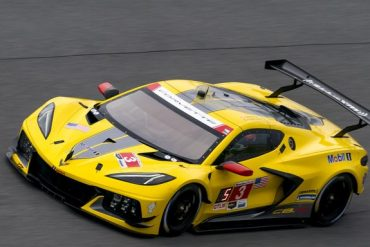 2020 Corvette C8.R racing at the Daytona 24 Hours