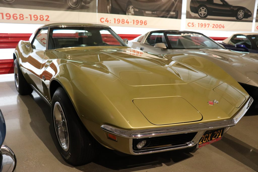 C3 Corvette at the National Corvette Museum