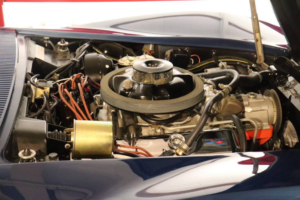 Engine in 1968 C3 Corvette