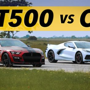 2020 Ford Shelby GT500 vs 2020 Corvette C8