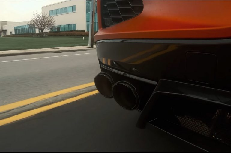 Fabspeed Supersport X-Pipe system for the Corvette C8