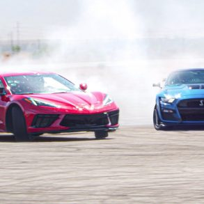 Corvette C8 drift and track day