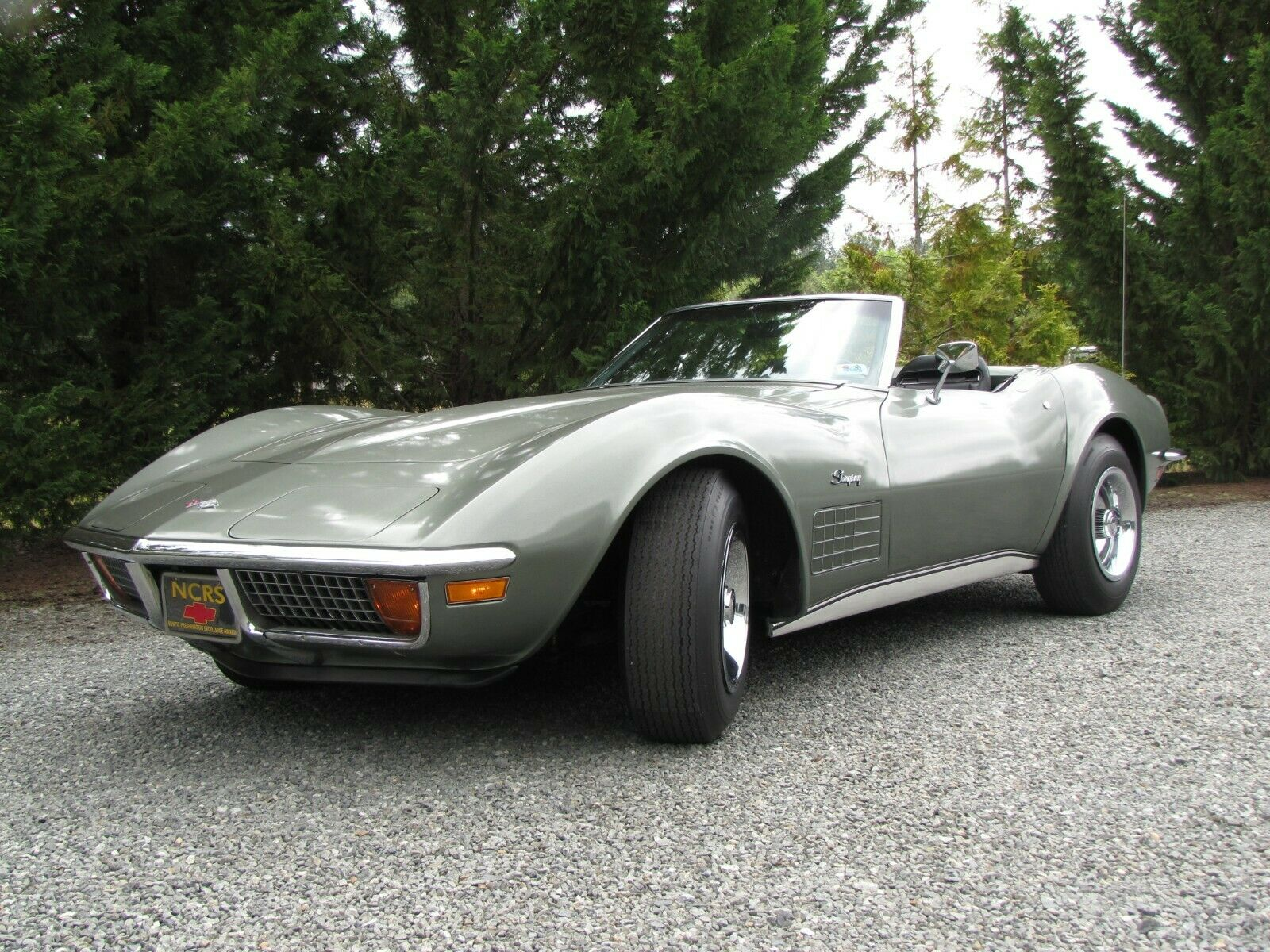 1972 Corvette C3 Stingray Convertible