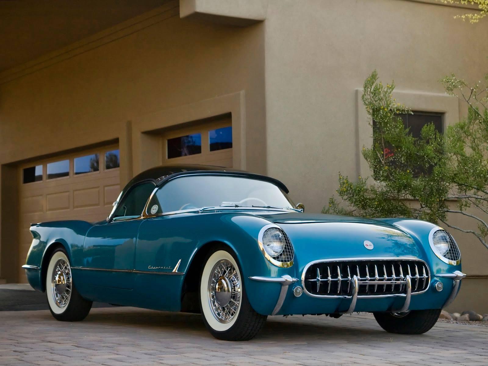 1954 Corvette Wallpapers