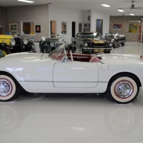 Beautifully restored 1953 Corvette, previously owned by Lyle Hill for nearly a half-century.