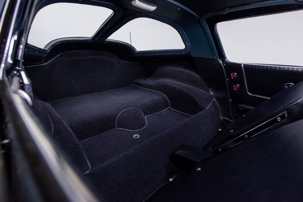 Note the attention to detail given to every inch of the interior upholstery. This car was meticulously assembled and is an absolute beauty.