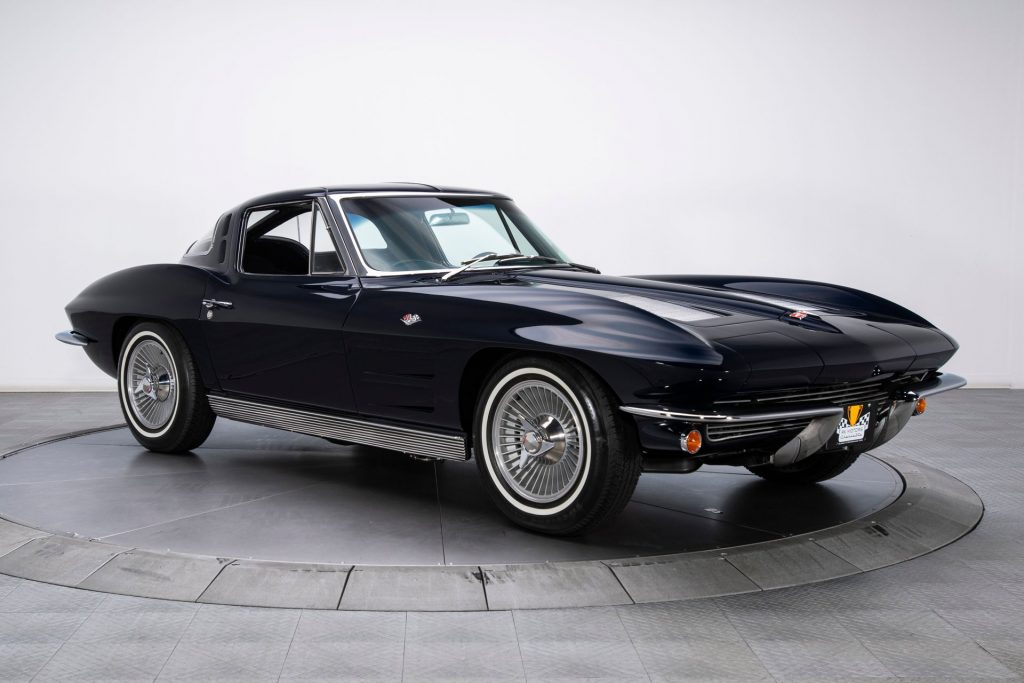FOR SALE: A beautifully restored, numbers-matching 1963 Split-Window Corvette.