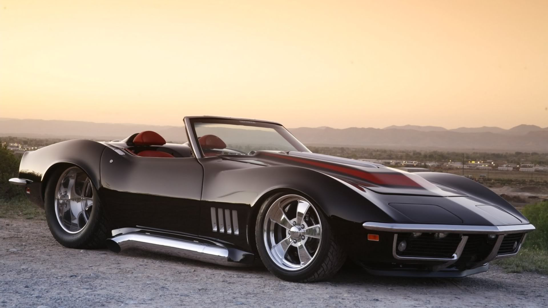 Custom Corvette Wallpapers