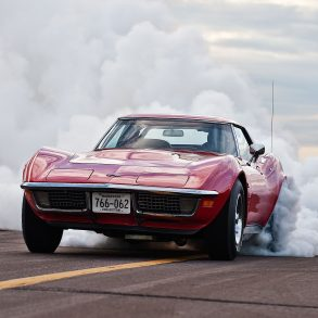 Corvette Burnout Wallpapers