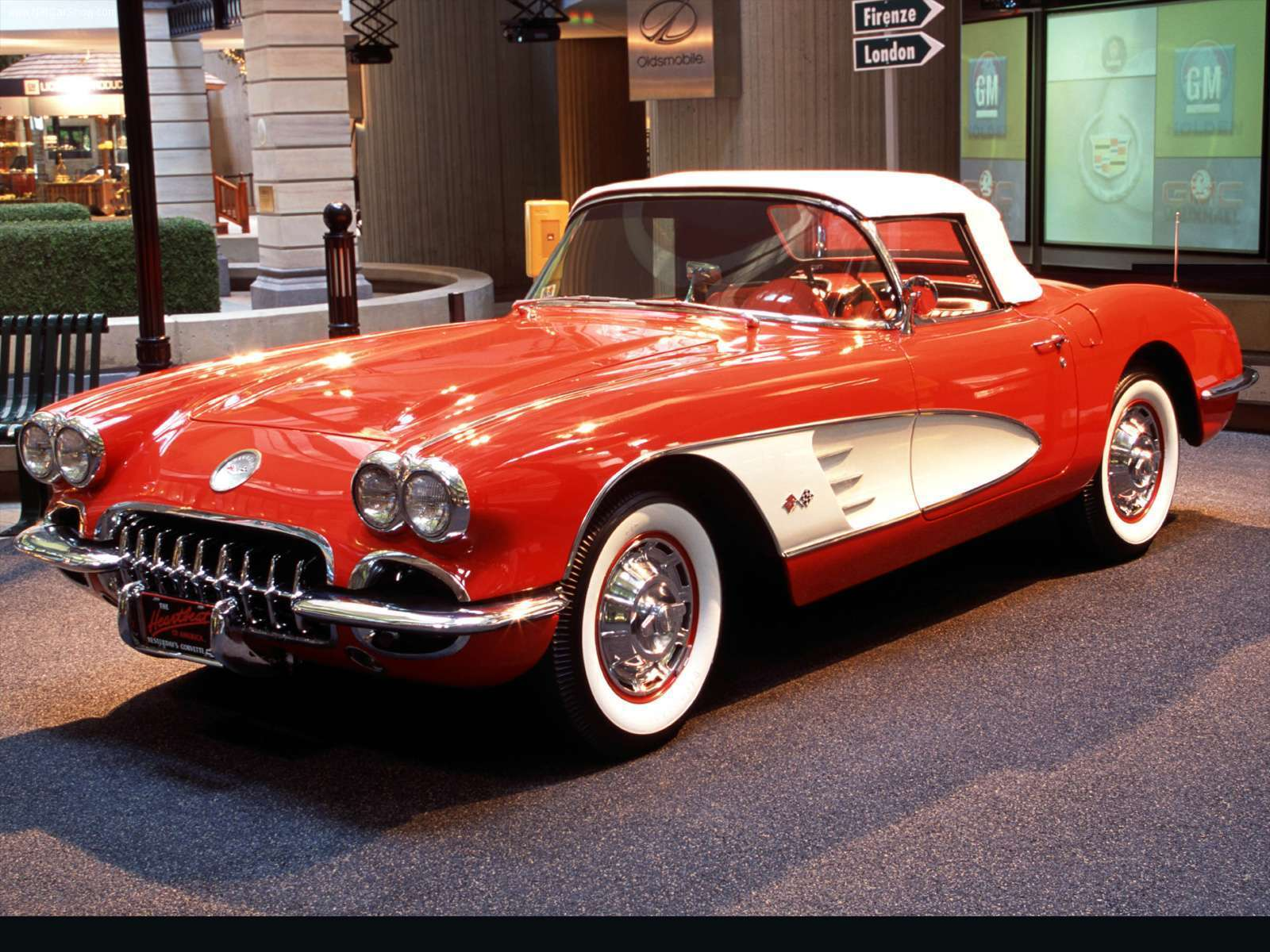 Classic Corvette Wallpapers