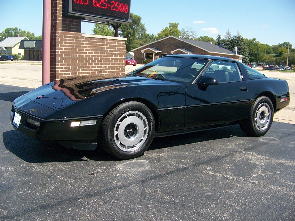 1987 Corvette Wallpapers