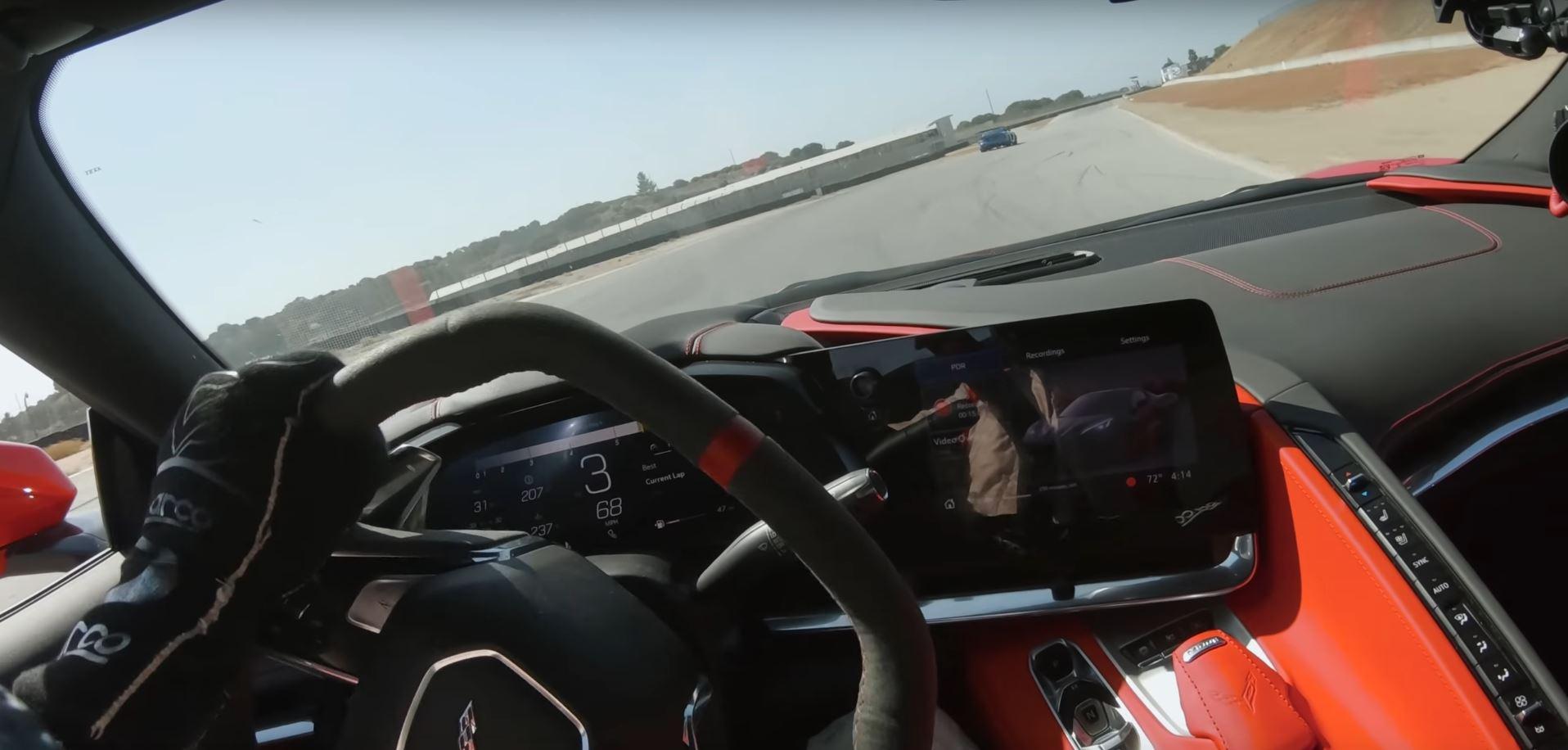 2020 Corvette C8 at Laguna Seca