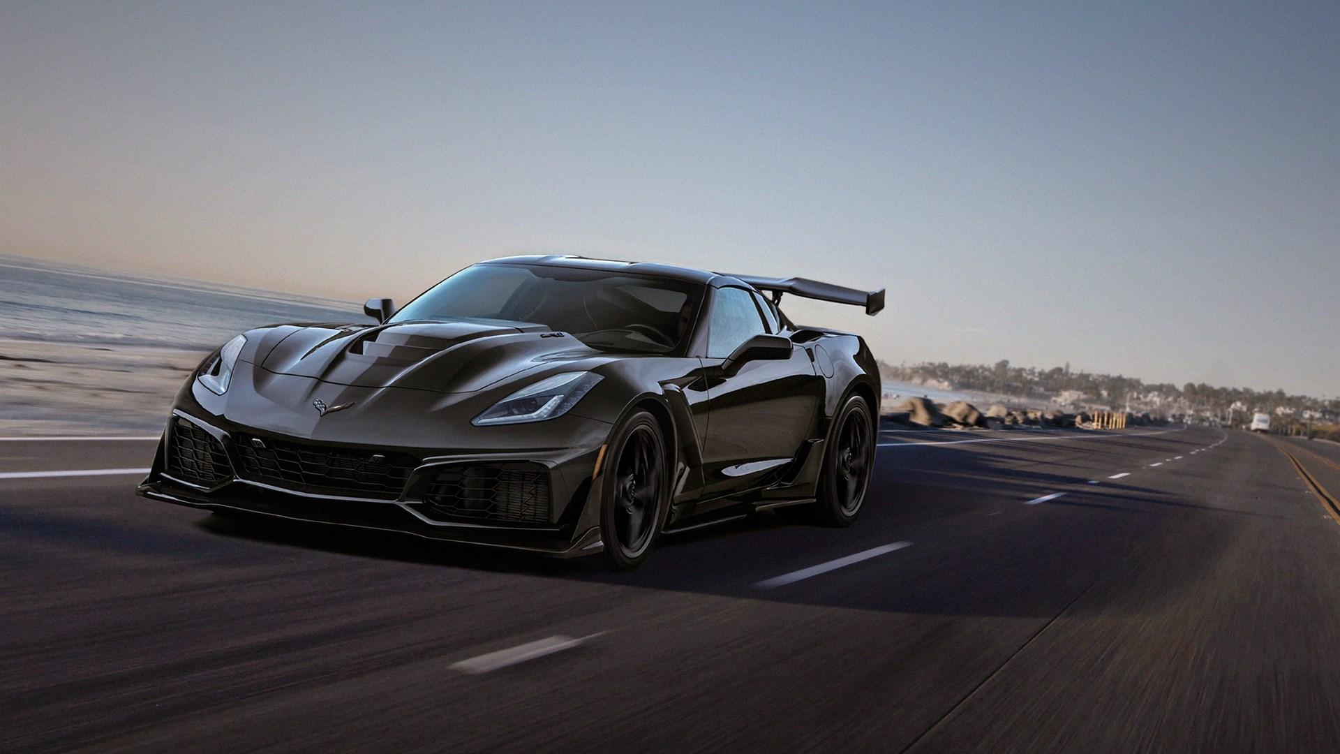 Black Corvette Wallpapers