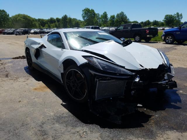 Crashed 2020 Corvette C8