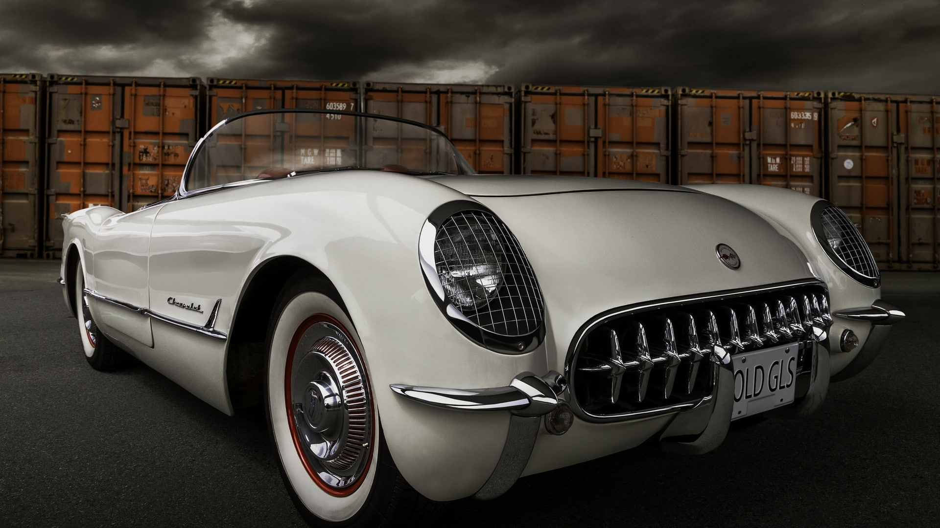 1954 Corvette Wallpapers
