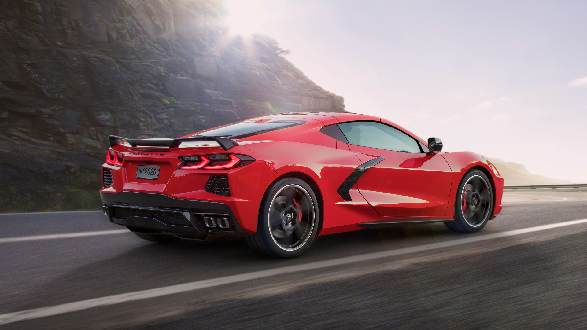 Red Corvette Wallpapers
