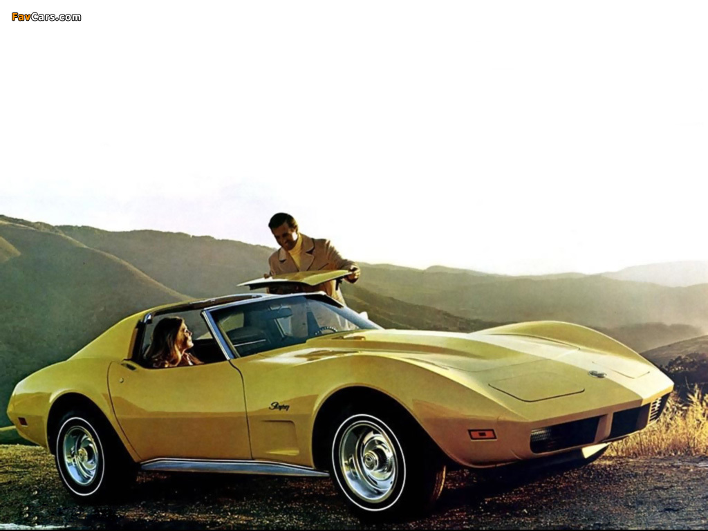 1974 Corvette Wallpapers