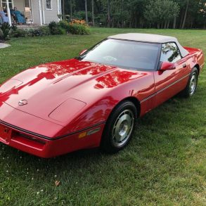 1987 Corvette C4 Convertible for sale