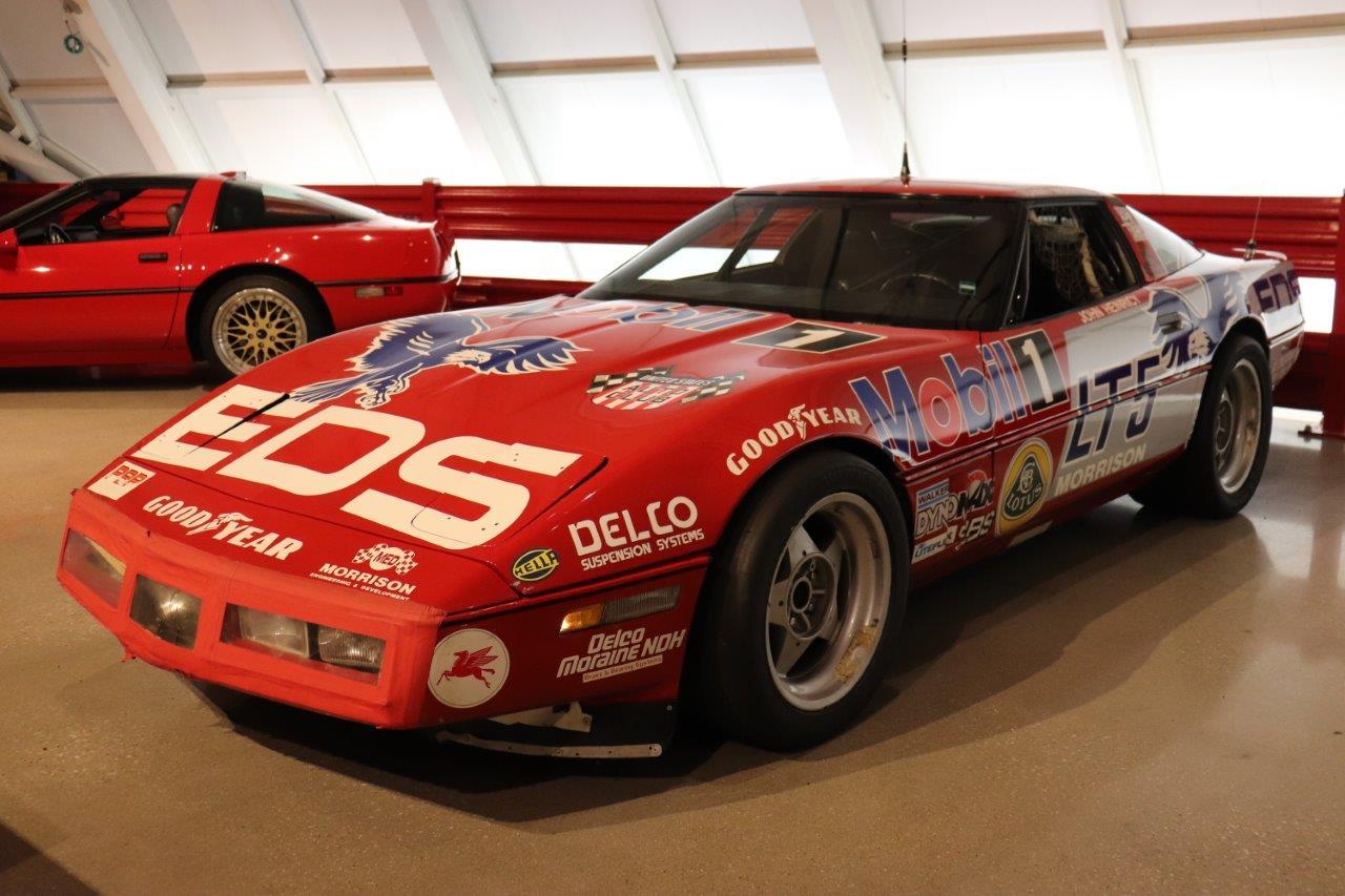 ZR- World Record Endurance Run Corvette on display at NCM