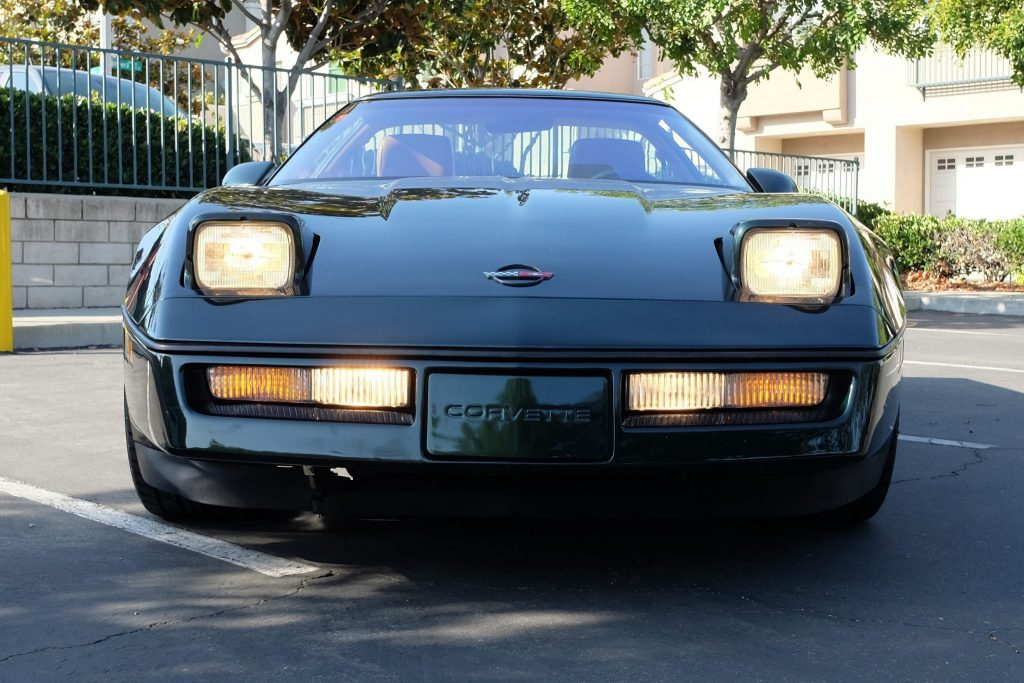 FOR SALE: A Polo Green 1990 Corvette ZR-1!