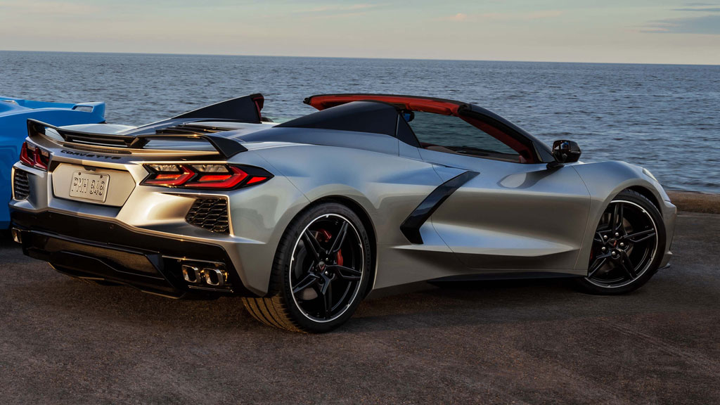 The 2021 Corvette Stingray finished in Silver Flare Metallic