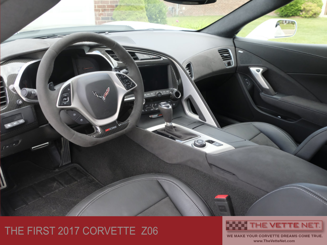 2017 Corvette C7 Z06 first of the 2017's