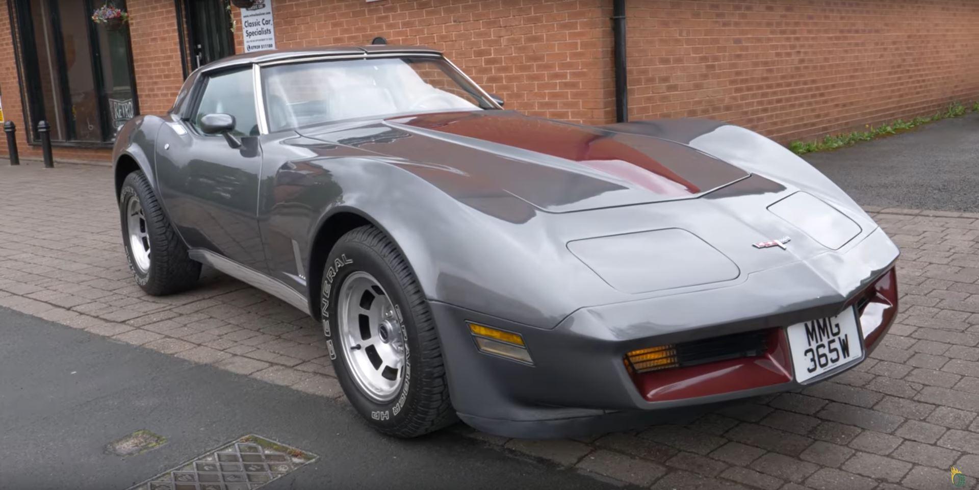 1981 Corvette C3 in the UK