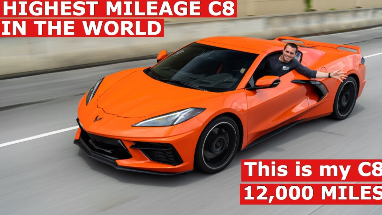 12,000 mile review Corvette C8