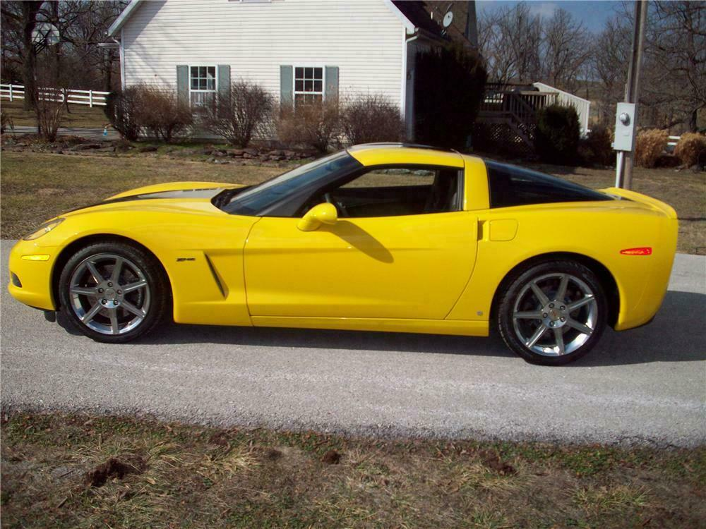 This 2008 Corvette ZHZ Coupe sold at the 2011 Barrett Jackson in Palm Beach for $53,900.00.