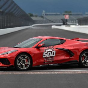 The 2020 Corvette Indy Pace Car