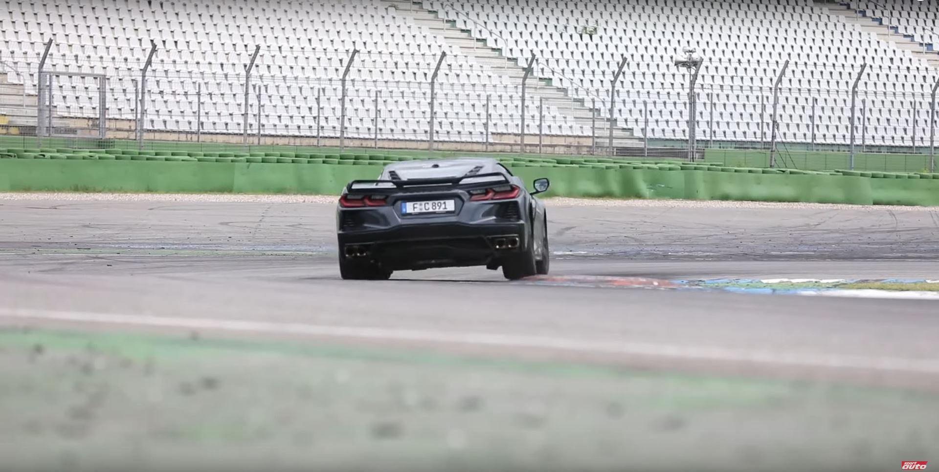 Corvette C8 Against Competitors Hockenheimring