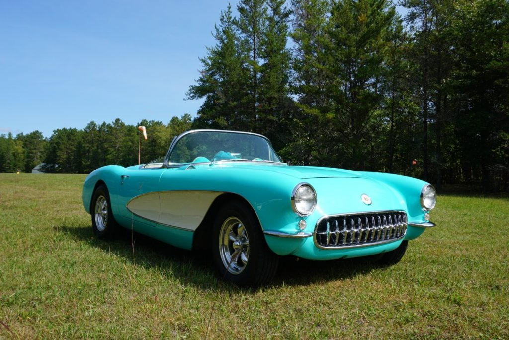 This 1956 Corvette as meticulously restored by its current owner as an all-purpose cruiser.