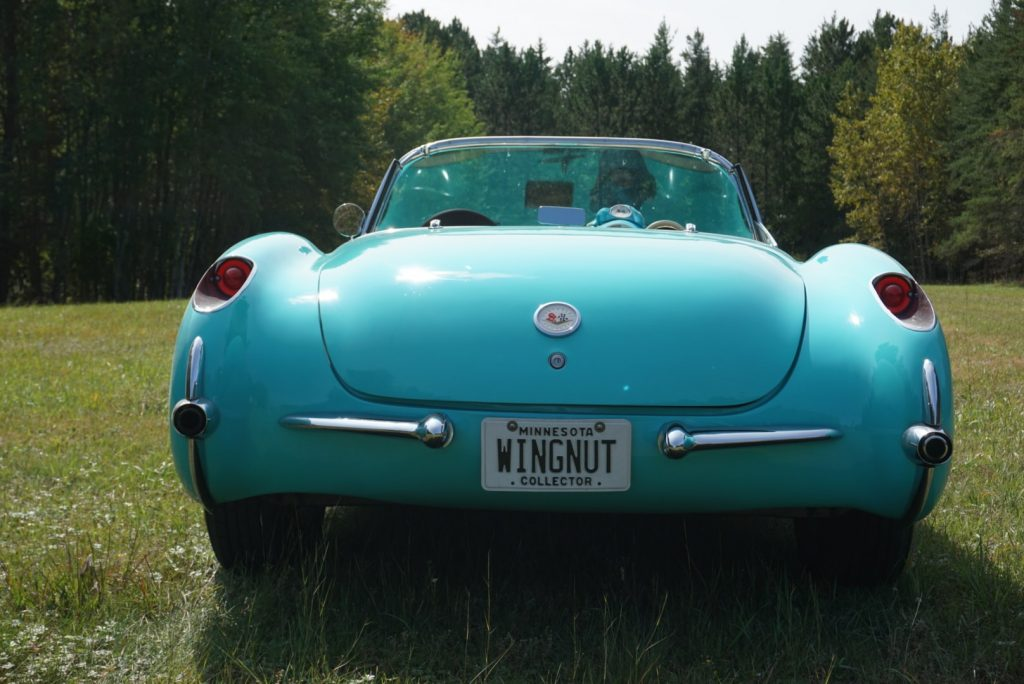 This beautiful 1956 Corvette is available at the Facebook Marketplace and has an asking price of $74,000!