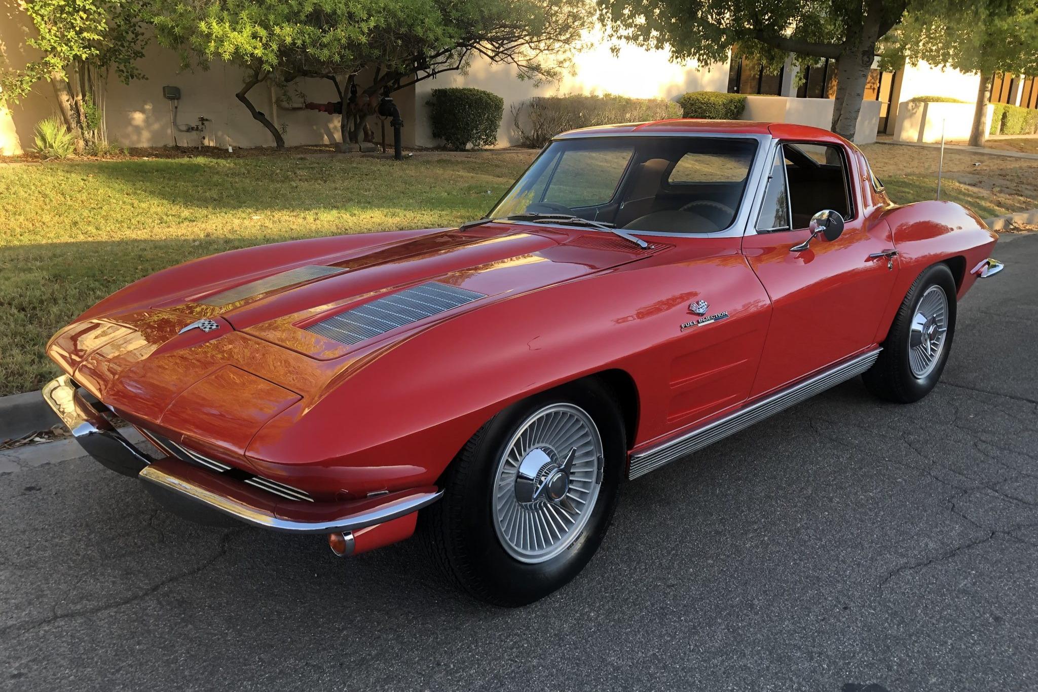 Red 1963 Corvette