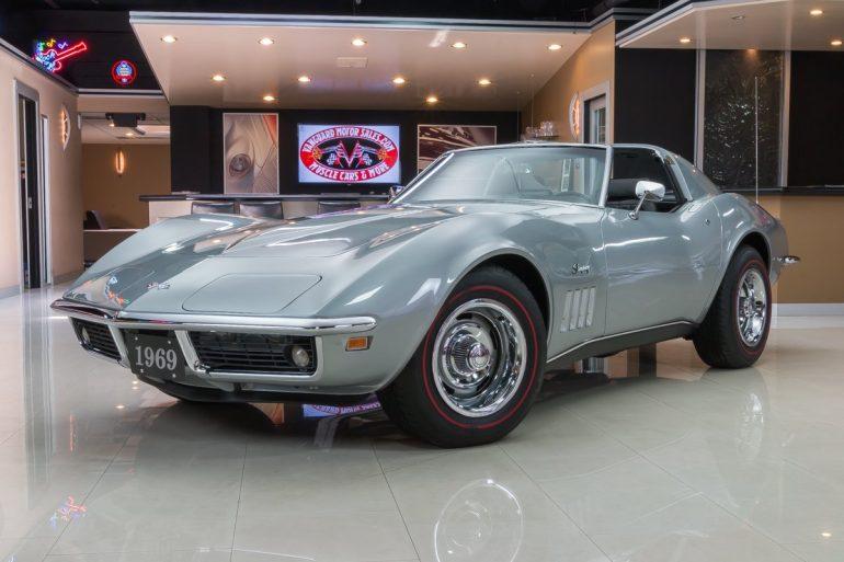1969 C3 Corvette Front Angle