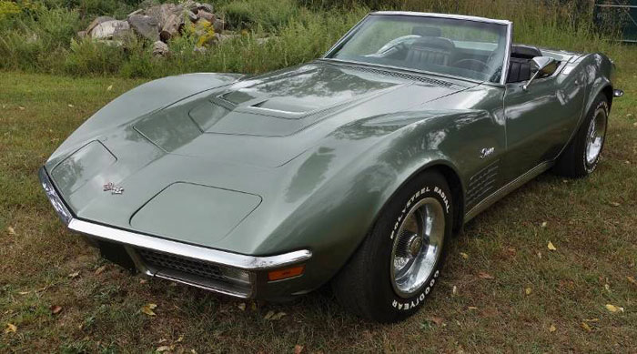 1971 ZR1 Corvette Convertible