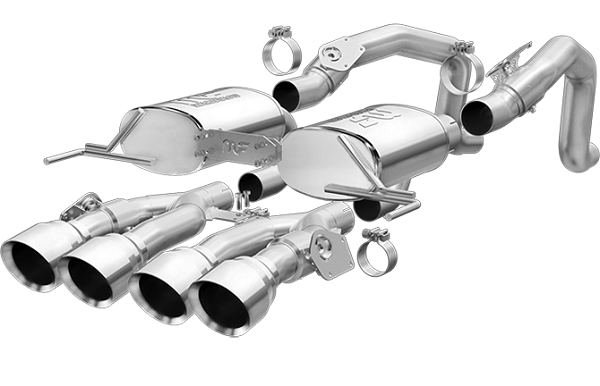 MagnaFlow Street Series Axle-Back Performance Exhaust