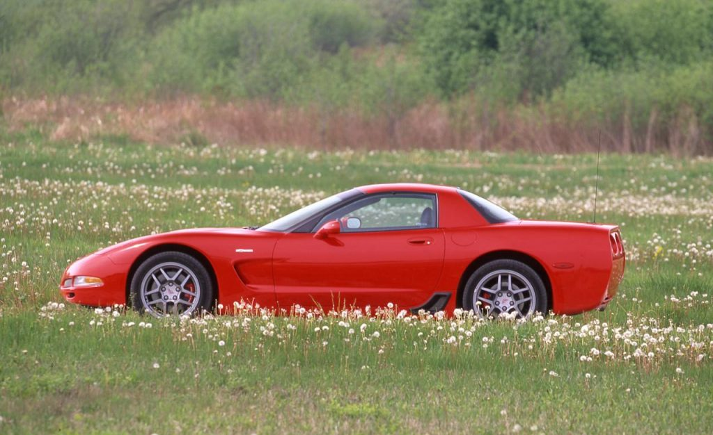 Red 2001 Z06 with LS6 engine