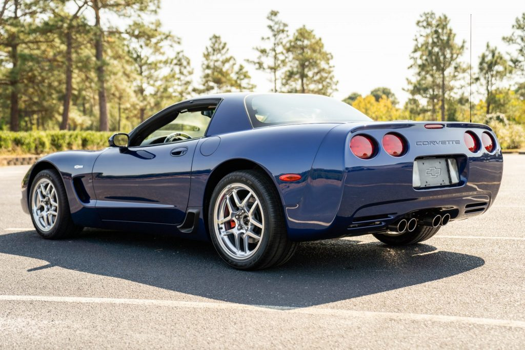 This 2004 Corvette Z06 Commemorative Edition has just 11 miles on its odometer!