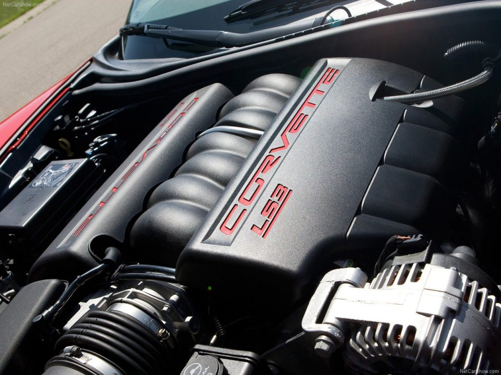 LS3 Grand Sport Engine closeup