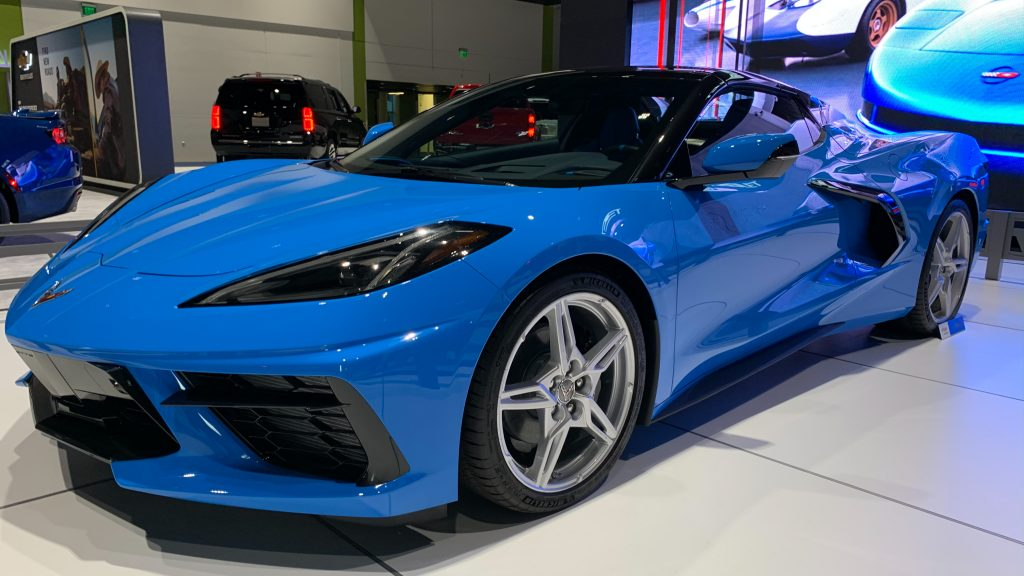 Blue C8 Stingray